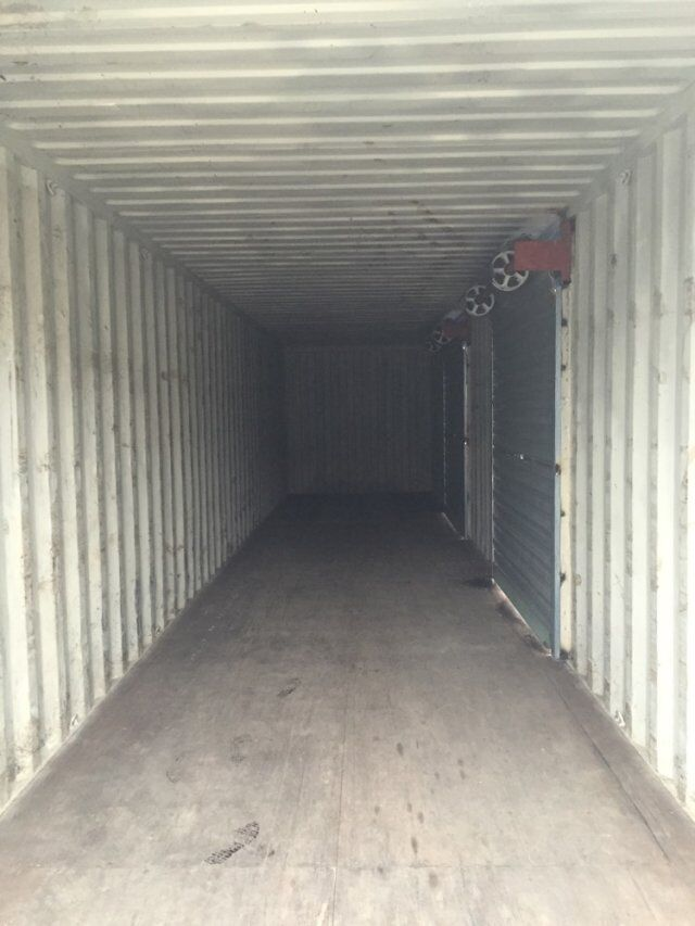 集装箱改卷帘门