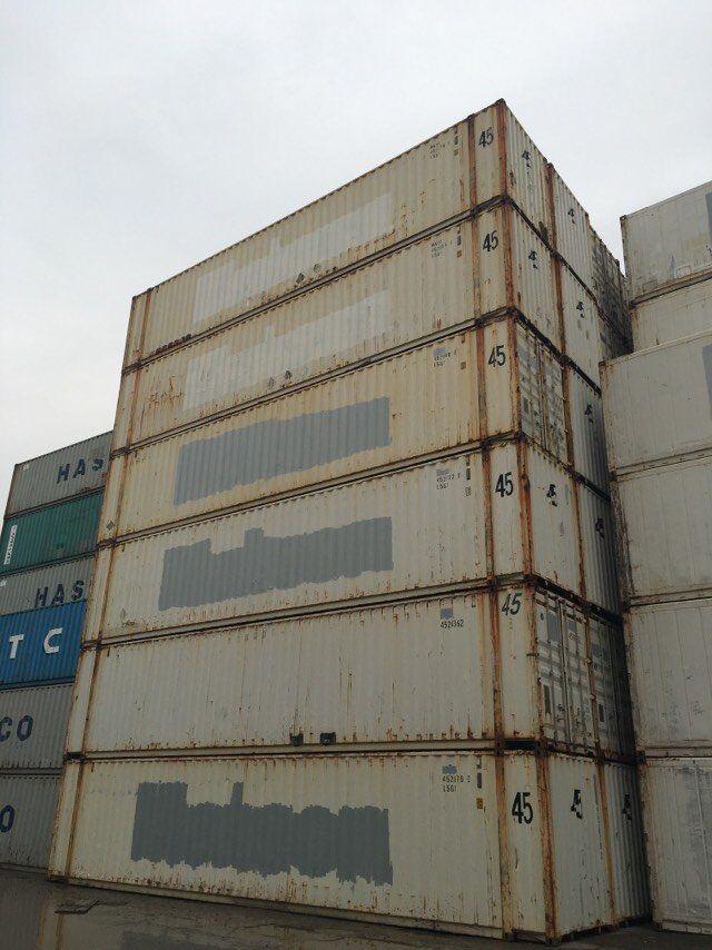 二手45尺集装箱,废旧集装箱出售,集装箱买卖