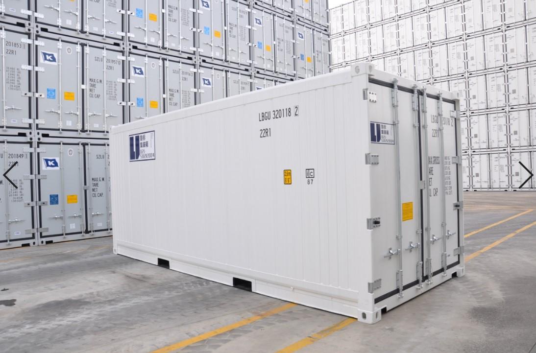 全新20英尺冷藏集装箱