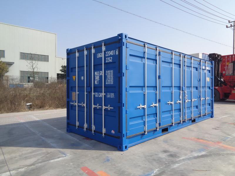 常州全新20英尺侧开门集装箱
