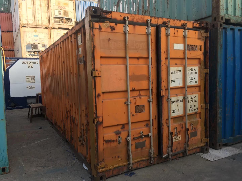 20英尺硬开顶集装箱