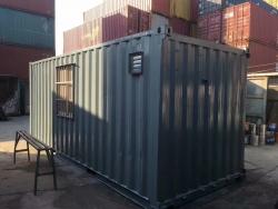 20英尺住人活动房集装箱